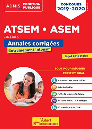 Concours ATSEM et ASEM - Catégorie C - Annales corrigées - Concours 2019-2020 par Caroline Dubuis-Morel