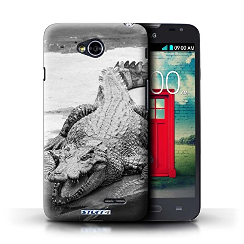 iCHOOSE Print Motif Coque de protection Case / Plastique manchon de telephone Coque pour iPhone 6+/Plus 5.5 / Collection Animaux de zoo / Loup Crocodile/Alligator