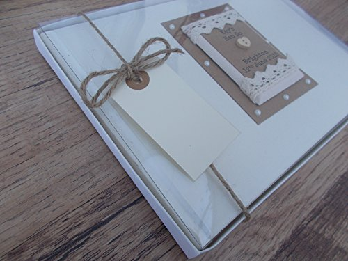 Personalised luxury scrapbook photo album guestbook 18th birthday gift
