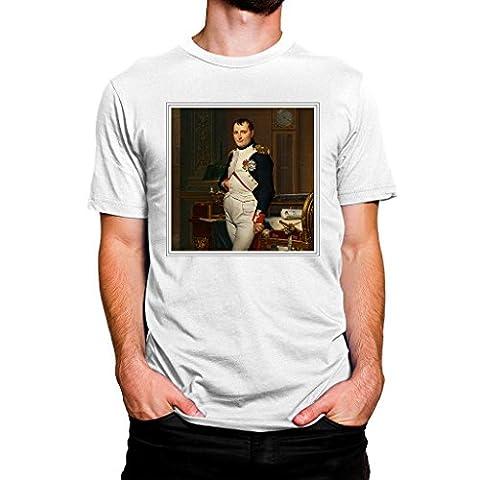 White T Shirt (XL) Jacques Louis-David The Emperor Napoleon