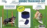 Hundetrainingsset Harry Slalomstangen, Hürden, GRATIS Napf, Agility-Set