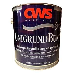 CWS unigrund blanc 2,5 l
