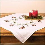 Rico Mitteldecke Weihnachten 80 x 80 cm vorgezeichnet KOMPLETTPACKUNG 25903.00.67