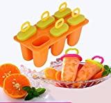 #7: Kuber Industries™ Ice Candy,Kulfi Maker Moulds Set of 6 Pcs (Code07)