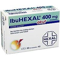 Preisvergleich für IbuHEXAL® akut 400 mg Filmtabletten