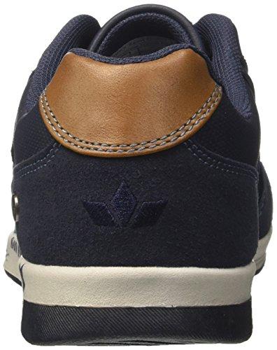 Geka Southside, Sneakers Basses Homme Bleu (Marine/braun Marine/braun)