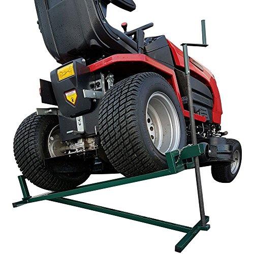 BMS Rasenmäher Lifter 400kg Hebevorrichtung Rampe Ride on Rasenmäher Garten Traktor Jack (Garten Traktor)
