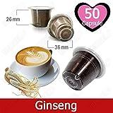 Caffè Kickkick al Ginseng 50 Capsule Compatibili Nespresso