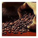 Vliestapete–Dulcet Kaffee–Wandbild quadratisch