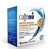 Caffenu pulizia per macchina da caffè Nespresso capsule, confezione da 12,7cm 'Il caffè colore Dirt è visibile all' occhio. Con un detergente per ustioni, per rimuovere lo sporco di ossidazione del caffè che non cadono.