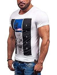 BOLF - T-shirt à manches courtes – GLO STORY 7452 – Homme