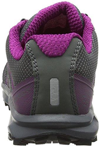 The North Face Litewave Fastpack, Stivali da Escursionismo Donna Grigio (Sedona Sage Grey/wild Aster Purple)