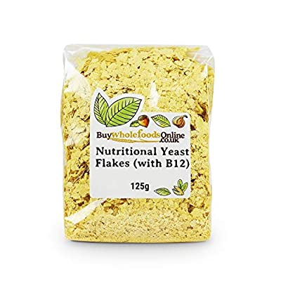 Nutritional Yeast Flakes (with B12) 125g (Buy Whole Foods Online Ltd)