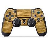 DeinDesign Sony Playstation 4 Controller Folie Skin Sticker aus Vinyl-Folie Aufkleber Holz Look Eichenholz Maserung