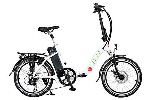 AsVIVA Elektrofahrrad Klaprad Pedelec 36 V Alu-E-Bike