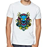Casotec Abstract Wolf Custom Printed Designer Polyester Sports Round Neck T-Shirt Amazon