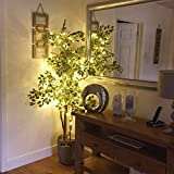 Battery Operated Waterproof Fairy Lights with 10M 100 Warm White LEDs Bild 5