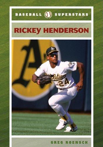 Rickey Henderson (Baseball Superstars (Hardcover)) by Greg Roensch (2008-04-30) par Greg Roensch