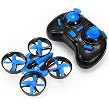 REALACC H36 Mini Telecomandato Quadricottero Drone 2.4G 4CH 6 Axis Gyro Headless Mode One Key Return RC Toys Micro Nano UFO Quadcopter Drone RTF Modalità 2(Blu)