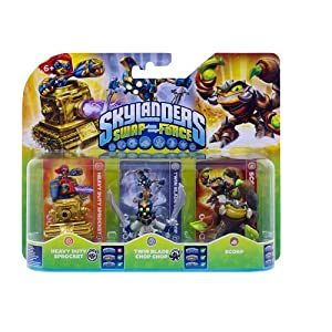 Skylanders Swap Force – Triple Pack D (Scorp, Chop Chop, Sprocket)