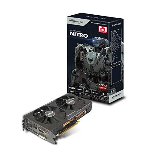 Sapphire AMD Radeon R9 380 Tarjeta gráfica con 4 GB GDDR5 Nitro (PCI Express...