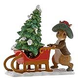 Beatrix Potter Benjamin Bunny Preparing for Christmas Figurine