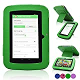 """LeapFrog Epic Case, ACdream High Quality PU Leather Cover Case for LeapFrog Epic 7"""" Android-based Kids Tablet 16GB (NOT FIT other device) , Green"""