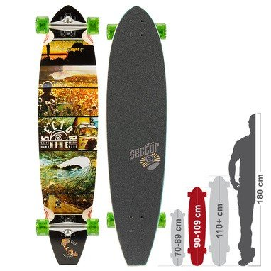 Sector 9 Longboard Voyager Complete, One size, CF141
