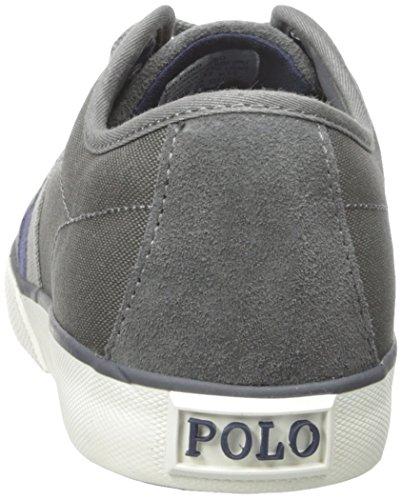 Polo Ralph Lauren Halford Fashion Sneaker Charcoal Grey