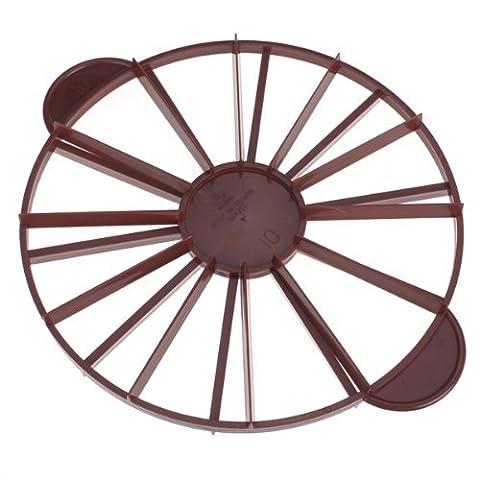 gâteaux intercalaire Slice Pie gâteau 10/12pièces égale Portion Marker Divider, 2Côtés, chacun Peut utiliser au Mark 10égal pièces, les autres peuvent Mark 12égal pièces