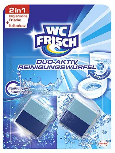 WC FRISCH Duo-Aktiv Reinigungswürfel für Wasserkästen. 6er Pack (6 x 2 Stück)