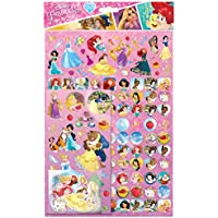 Paper Projects 810539Lot de 150 autocollants Motif princesses Disney