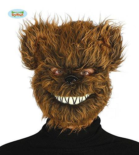 Fiestas Guirca GUI2562 - Maske böser Bär mit (Lustige Kostüme Für Ideen Halloween)