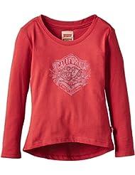 Rosso magliette e top bambina 0 24 for Amazon abbigliamento bambina