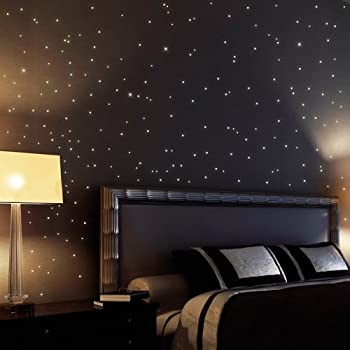 255 Fluorescent Stars And Dots For A Starry Sky   Wall Sticker Stars And  Dots Shining Part 21