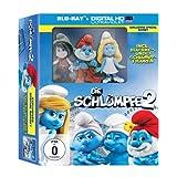 Die Schlümpfe 2 (+ Digital HD Ultraviolet + 3 Schlumpf-Figuren) (Exklusives Special Boxset) [Blu-ray]