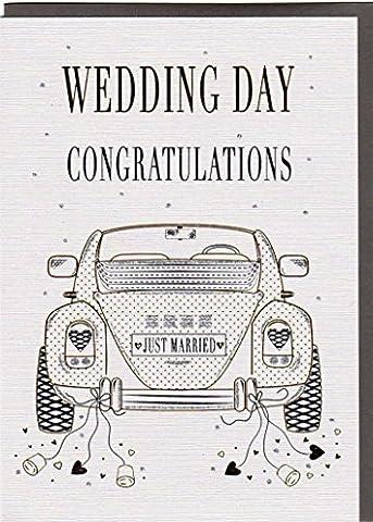 'Une élégante carte de félicitations