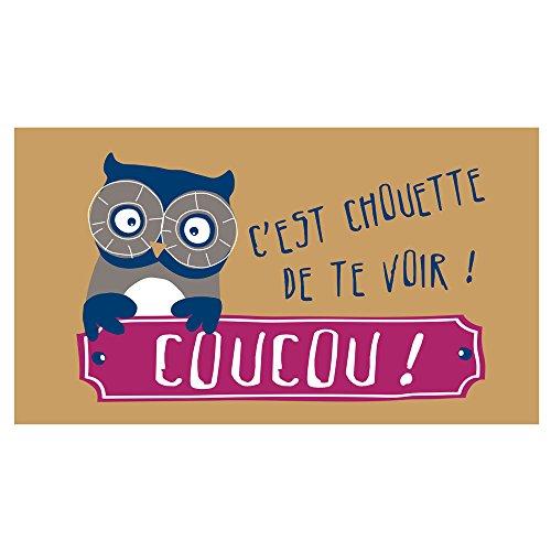 Paillasson Coucou Chouette
