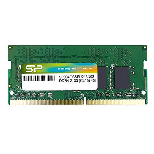 Silicon Power 4GB Speicher für Laptops 4 DDR4 2133 (PC4 2133) SO-DIMM SP004GBSFU213N02