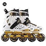 WXGY Erwachsene Inline-Rollschuhe Anfänger Freestyle Skating Boots Verdickte Shock Absorption Schuhe