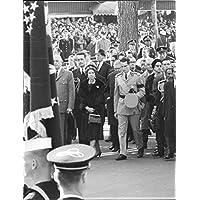 Vintage Foto Di pres.Diosdado Macapagal (estrema destra)
