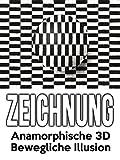 Clip: Zeichnung  Anamorphische 3D Bewegliche Illusion