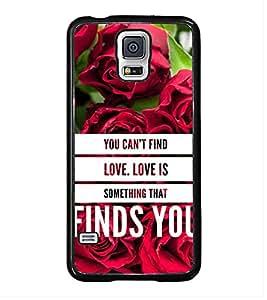 ifasho Designer Back Case Cover for Samsung Galaxy S5 :: Samsung Galaxy S5 G900I :: Samsung Galaxy S5 G900A G900F G900I G900M G900T G900W8 G900K (You Cant Find Love Pleasure)