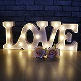 LOVE Modélisation Veilleuses - LED Luminaires LOVE Lampe Table à Batteries et USB Opération Veilleuses murale famille Décoration