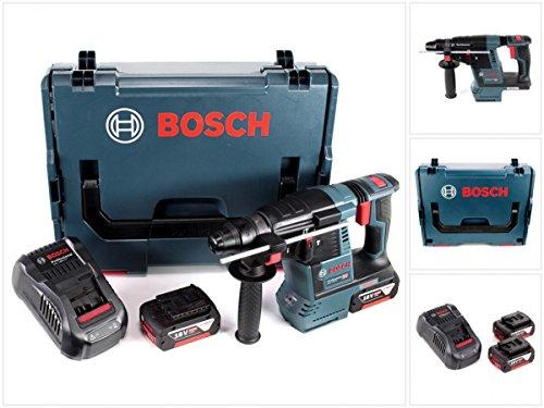 Preisvergleich Produktbild Bosch GBH 18 V-26 Akku Bohrhammer Professional SDS-Plus in L-Boxx mit 2 x GBA 6 Ah Akku und GAL 1880 CV Ladegerät