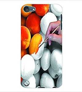 ColourCraft Colouring Fruit Back Case Cover for APPLE IPOD TOUCH 5
