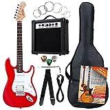 Rocktile Banger?s Power Pack SET guitare électrique, 8 pièces Red