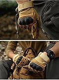 KT-SUPPLY Motorrad Handschuhe Vollfinger Für Painball Airsoft Militär Und Taktischen Aktivitäten Armeegrün M - 4