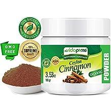 myVidaPure Organic Ceylon Cinnamon Powder RAW. 100% Pure Natural Gluten Free, Non-