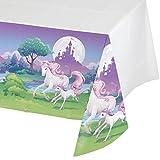 Tovaglia di plastica magico Unicorno Taglia Unica
